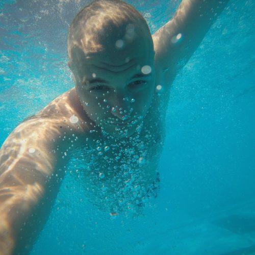 GoPro cameras are very mobile & go underwater