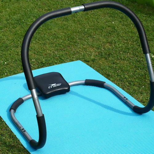 Ab rocker type exercise equipment