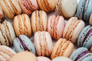 Macaron French pastry cookies