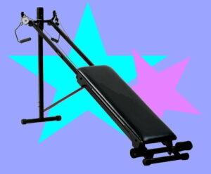Sliding track design home exercise machine