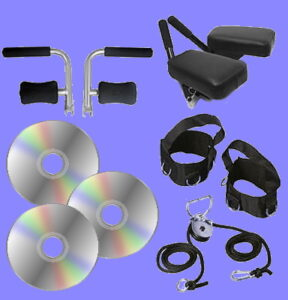 Total Gym accessory attachments videos dvds